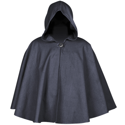 Kim Canvas Short Cloak