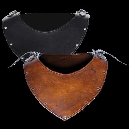 Marius Leather Gorget