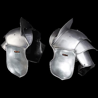 Galahad Steel Spaulders