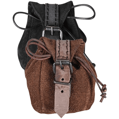 Friedhelm Leather Pouch