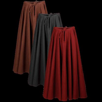 Ursula Premium Canvas Skirt