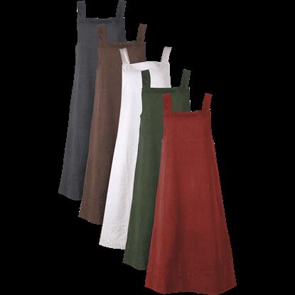 Alva Apron Canvas Dress