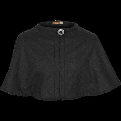 Bron Wool Shoulder Cape