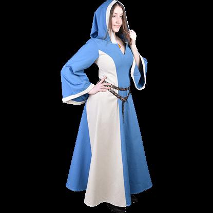 Iris Hooded Canvas Dress