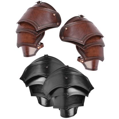 Antonius Leather Spaulders