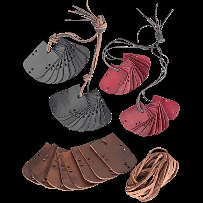Shapur Leather Lamellae Plates
