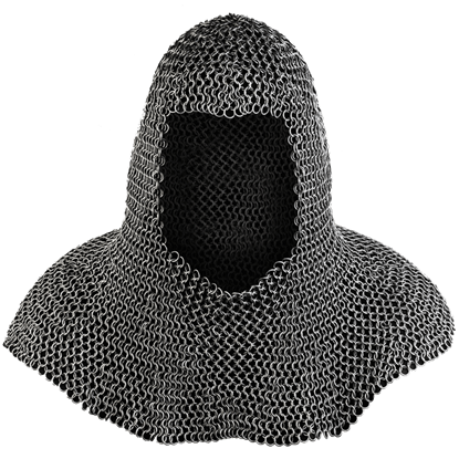 Richard Oiled Chainmail Coif