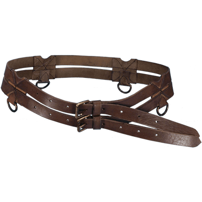 Leather Twin Belt