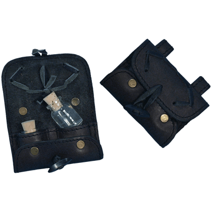 2 Bottle Potion Pouch