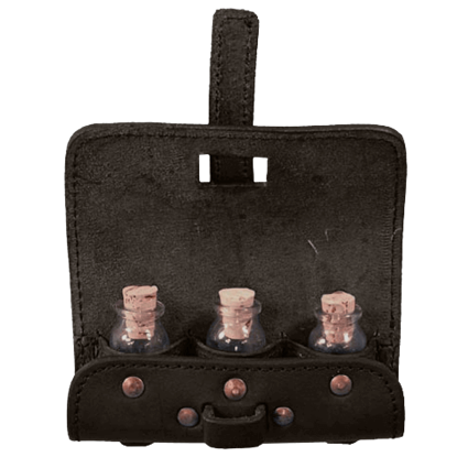3 Bottle Potion Pouch