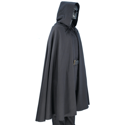 Medieval Hooded Cape