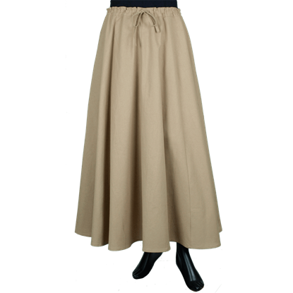 Womens Basic Skirt