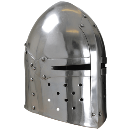 Steel Sugar Loaf Helmet