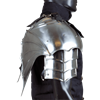 Gothic Gorget with Pauldrons