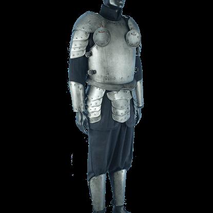 Dark Warrior Complete Armour Package - Size Medium