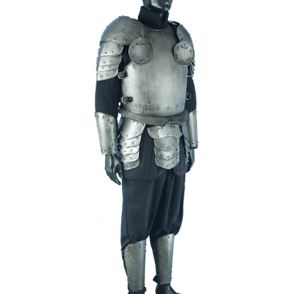 Dark Warrior Complete Armour Package - Size Small