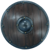 Round LARP Viking Shield