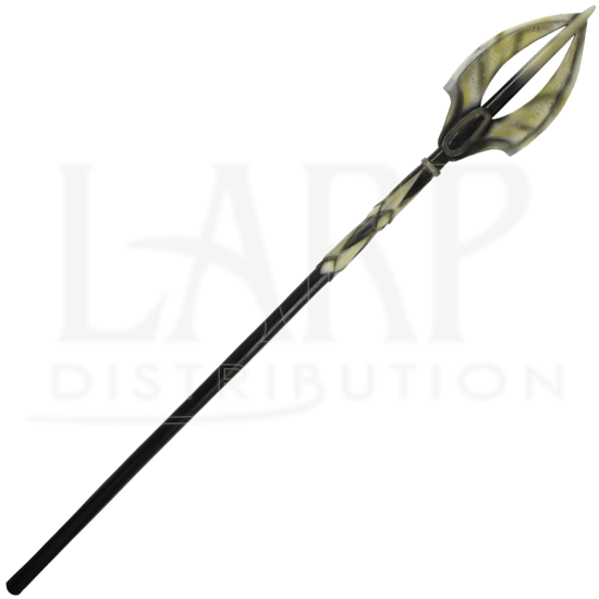 Dark Elven LARP Staff