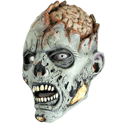 Open Brain Zombie Mask