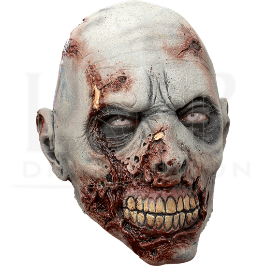Grey Scarface Zombie Mask