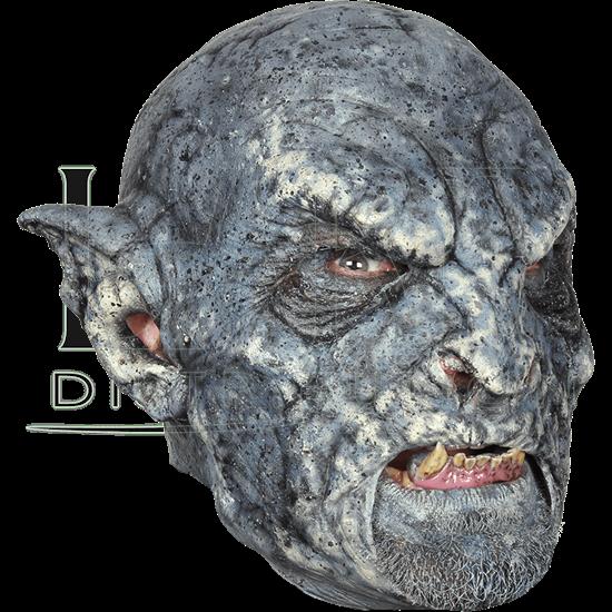 Monstrous Blue Orc Mask