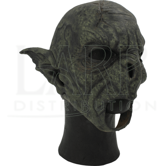Green Feral Orc Mask