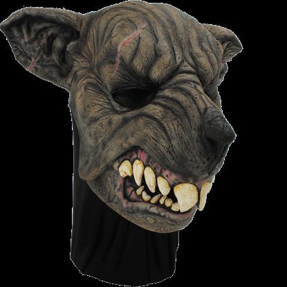Brown Were-Rat Mask