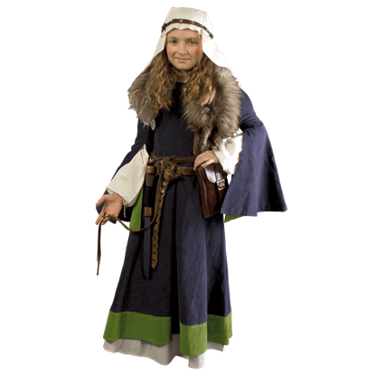 Girls Medieval Dress