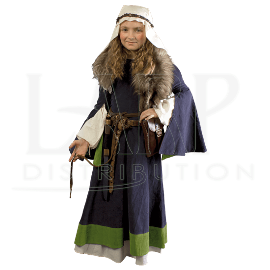 Girls Medieval Dress