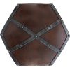 Raider LARP Woodgrain Shield