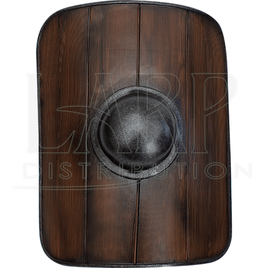 Woodgrain Gladiator LARP Shield