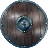 Small Round Viking LARP Shield