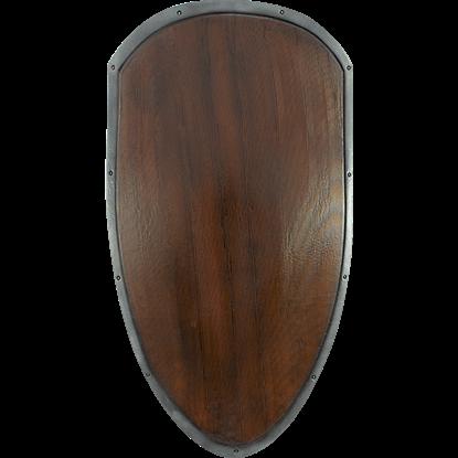 Ready For Battle Large Woodgrain Shield
