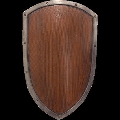 Ready For Battle Woodgrain LARP Kite Shield