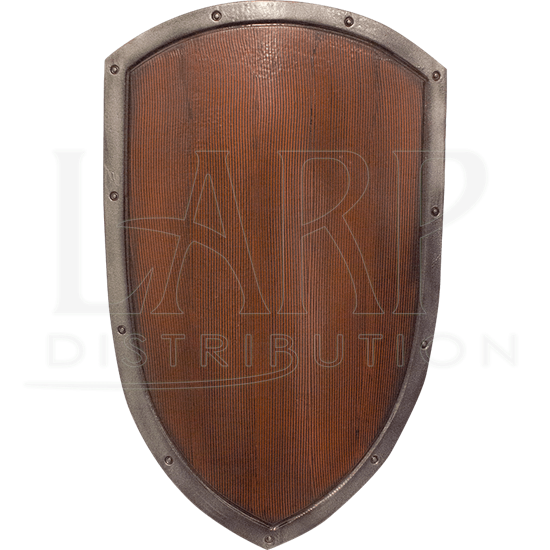 Ready For Battle Woodgrain LARP Kite Shield