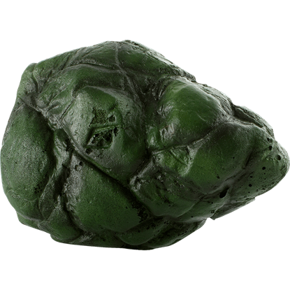 Green Lorian Stone LARP Rock