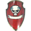 Red Skull Imperial LARP Shield