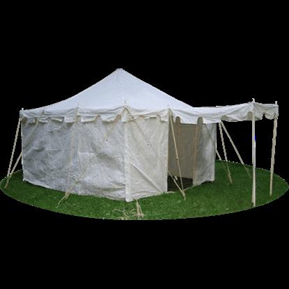 Square Knight Tent