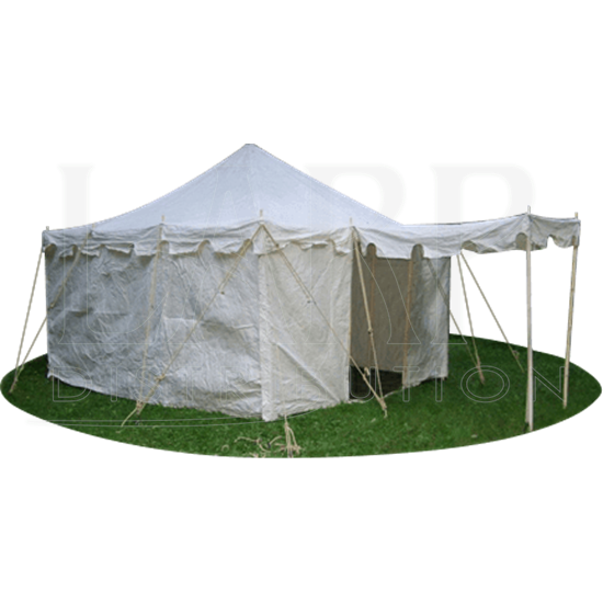 Square Knight Tent