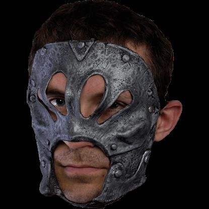 Silver Berserker Trophy Mask