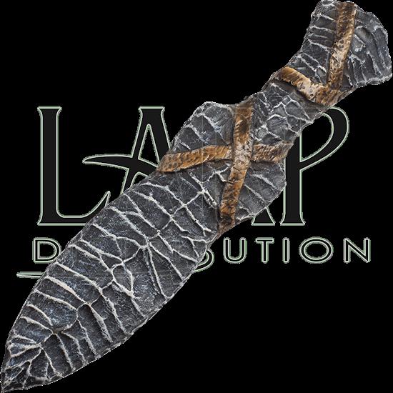 Stone LARP Throwing Knife