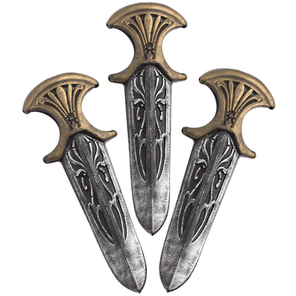 Assassin Inquisitor LARP Throwing Knives