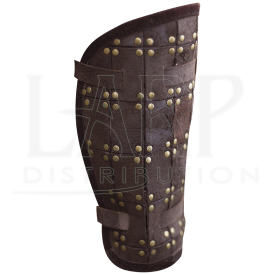 RFB Fighter Leather Greaves