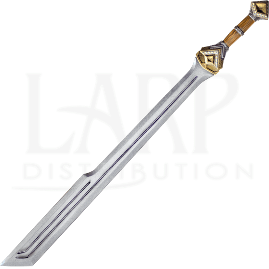 Dwarf Single Edge Long LARP Sword