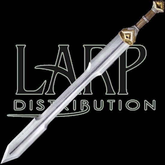 Dwarf Double Edge Long LARP Sword