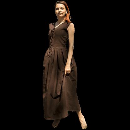 Heavy Cotton Peasant Dress