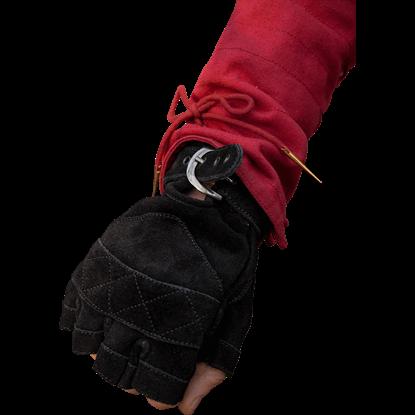 Suede Celtic Gloves