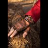 Leather Celtic Gloves