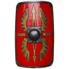 Roman Legion LARP Scutum Shield