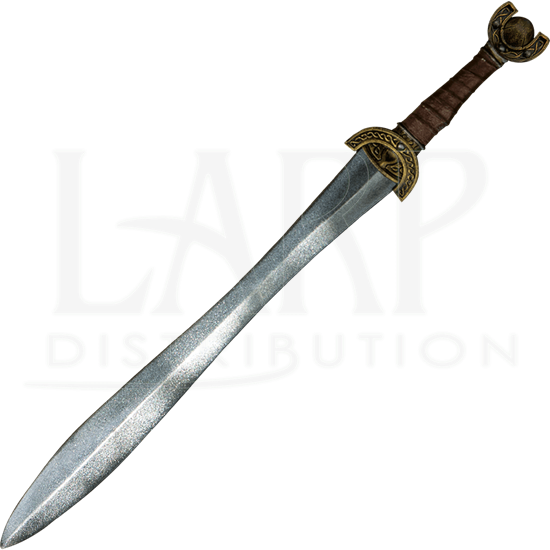 Celtic Leaf LARP Sword